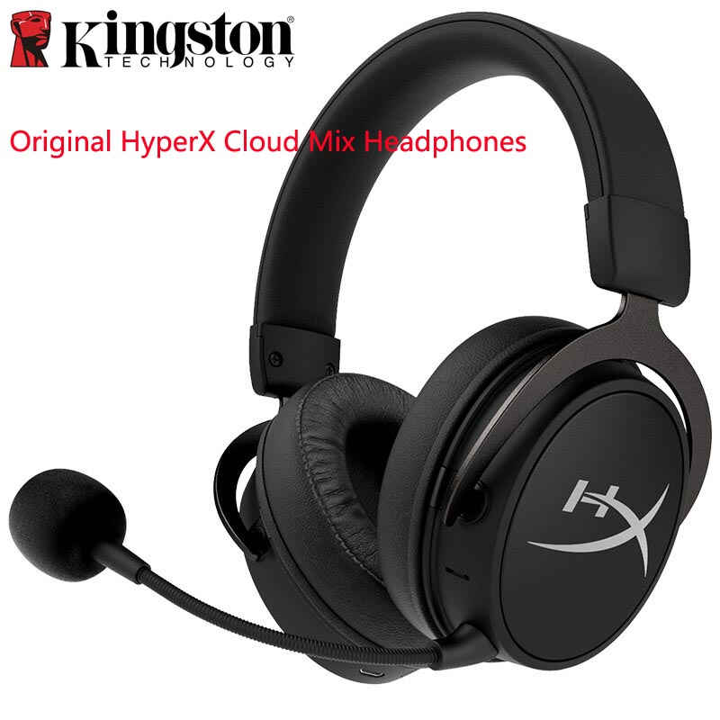 Kingston Original headphones HyperX Cloud Mix Dual-Sound Wireless Bluetooth Gaming Headset for Mobile Phone Computer Xbox PS