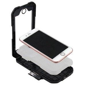Image 5 - Wasserdicht Telefon Halter Für iPhone11 Pro Max X XR XS MAX 8 7Plus SE Motorrad Telefon Stehen Unterstützung Fahrrad GPS Rüstung Fall Moto