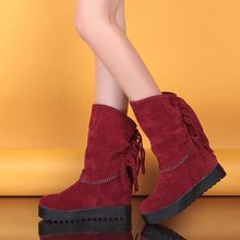 Free shipping vintage round toe flat platform thick heel women short boots female martin boots platform shoes women ankle boots