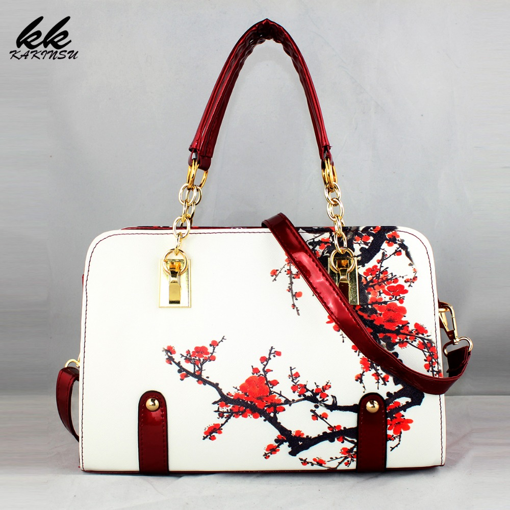 2016 New style Women Bag Fashion PU Leather Women Leather Handbag Casual Flower Pattern Women Shoulder Bag Fashion Female Tote new style pu leather flower pattern