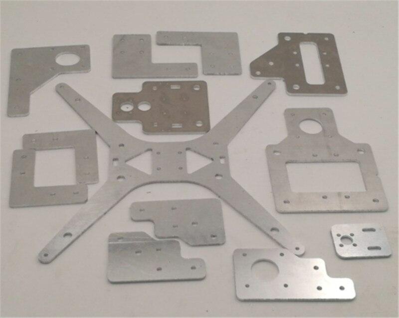 Funssor 3 мм толщина алюминия тарантула/HE3D стали алюминиевые пластины обновления частей комплект для HE3D EI3 один экструдер DIY 3D принтер|Детали и аксессуары для 3D-принтеров|   | АлиЭкспресс