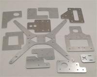 Funssor 3mm espessura alumínio tarântula/he3d placa de alumínio de aço kit de peças de atualização para he3d ei3 única extrusora diy impressora 3d