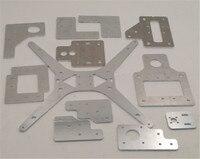 Funssor 3mm thickness aluminum Tarantula/HE3D steel aluminum plate upgrade parts kit for HE3D EI3 single extruder DIY 3D printer