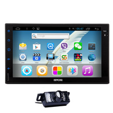 Audio System 2 din WiFi GPS Stereo CD Camera APP 7″ Head Unit Music Android 5.1 Car Radio No-DVD FM OBD2 Receiver