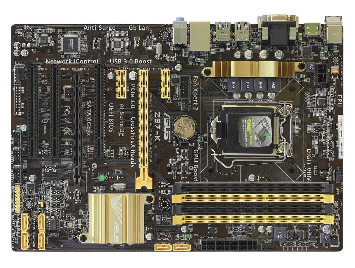 Z87-K quad-core Z87 board game 1150-pin computer motherboard twister family board game that ties you up in knots