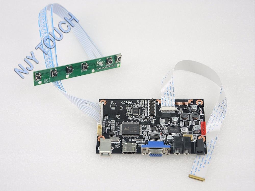 VGA HDMI Controller Board kit for 15.6inch B156XW04 V.8 eDP 30Pin 1366x768 Screen