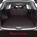 Пользовательские подходят высокой стороне багажнике автомобиля коврики для Cadillac ats CTS CT6 SRX XT5 XTS кожа прочный водонепроницаемый ковер Коврик...