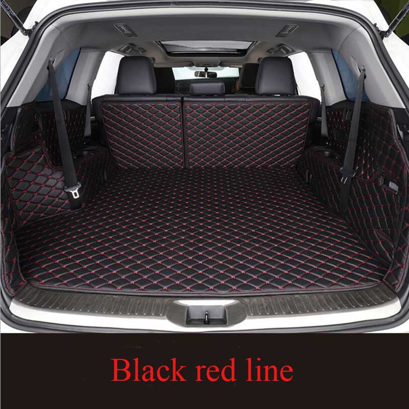 For Hyundai Tucson 2019 Waterproof Car Styling  Auto Accessories Leather Custom Car Trunk Mat
