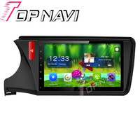 Topnavi 10.1 ''4 ядра Android 6.0 автомобиль GPS навигации для города 2013 2014 2015 для Honda Радио аудио стерео, no dvd