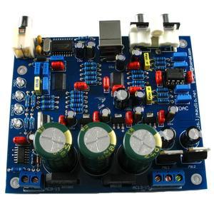 Image 2 - CS4398 CS8416IC Placa com USB Coaxial DAC 24/192 K Decodificador Bordo AC 15 V LJM
