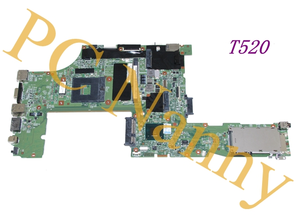 GENUINE For LENOVO THINKPAD T520 LAPTOP INTEL MOTHERBOARD FRU 04W2020 QM67 S989 - TESTED