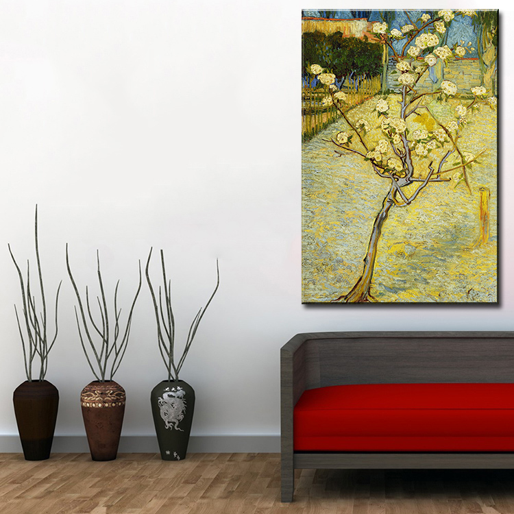 Picture for living room living oil painting vincent van for Living room 12x18