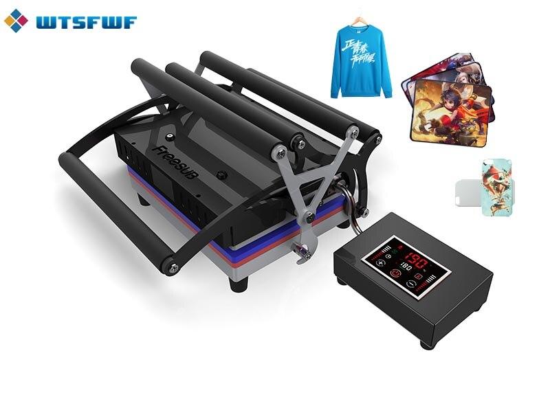 Wtsfwf ST-2130 21*30CM A4 Size Head Heat Press Machine 2D Heat Press Printer For Tshirts Cases Pads