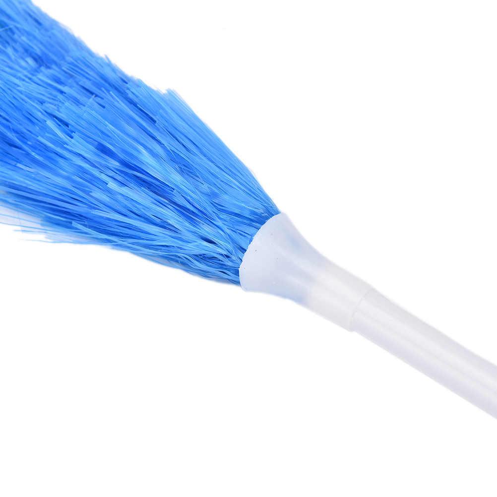 Novo longo macio espanador de penas doméstico colorido limpeza dusters para armários cosets roupeiros