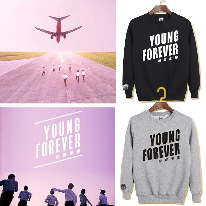 BTS-Kpop-Bullet-Proofkawaii-Loves-pink-hoodie-Women-Clothing-Young-Forever-Printing-moletom-k-pop-Sweatshirt (3)
