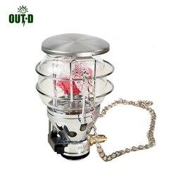 OUT-D 600 W lámpara de Gas estufa de Camping al aire libre de la lámpara de luz de Gas ultraligero sólo 187g T4
