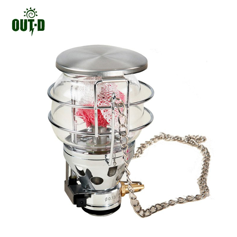 OUT-D 600 W Gaslamp Camping Kachel Lamp Outdoor Gaslicht Ultralight Alleen 187g T4