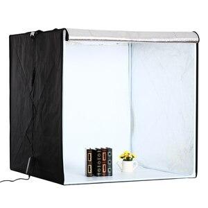 Image 3 - Lightbox Folding Photo Studio Photography Box Portable Photo Tent 80cm*80cm Light Box for Jewelry Clothes Shooting