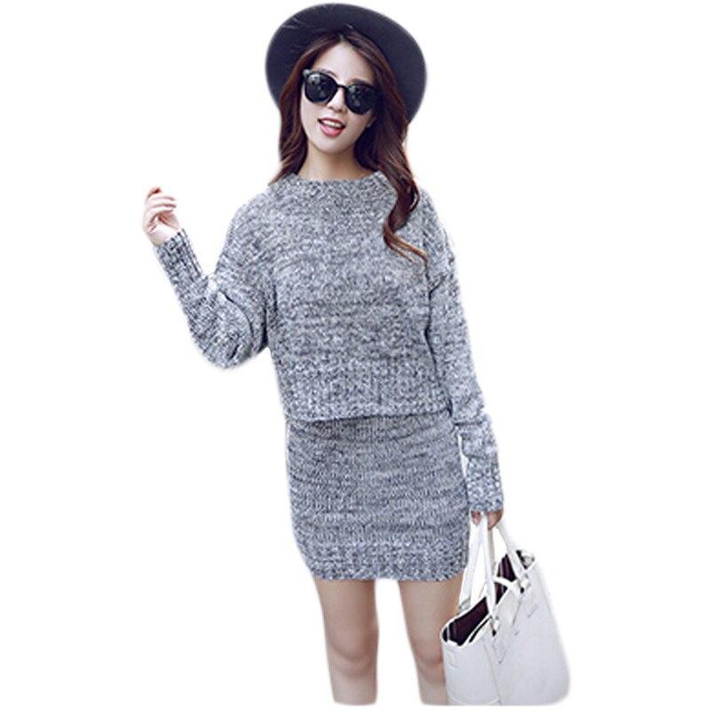 Женский костюм юбка и свитер