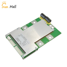 2019 17S 60V Lithium battery protection board polymer protection board 120A high current with Balance Same port BMS high quality