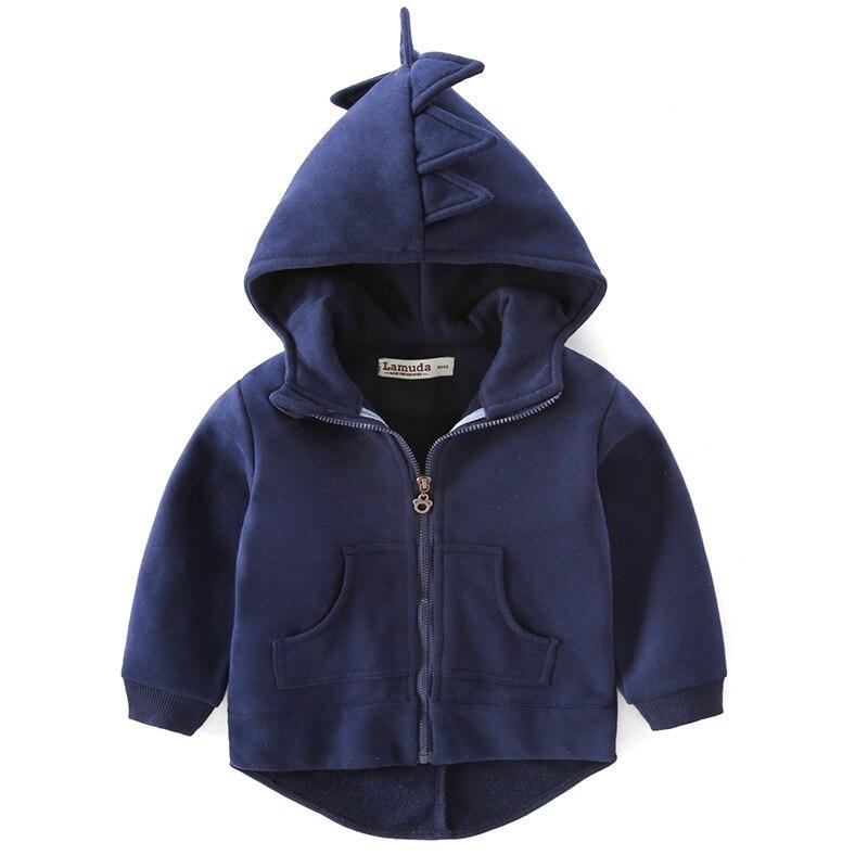 2017 Herbst Kinder Hoodies Sweatshirt Jungen Mädchen Baumwolle Cartoon Monster Dinosaurier Baby Kleinkind Mantel Kinder Kleidung Windbreake