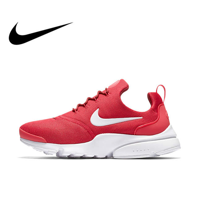 buy online 05cbc d27cd US $133.34 27% OFF|Original Authentic NIKE PRESTO FLY Womens Running Shoes  Sneakers 910569 Sport Outdoor Breathable Ladies Athletic Classic 910569-in  ...