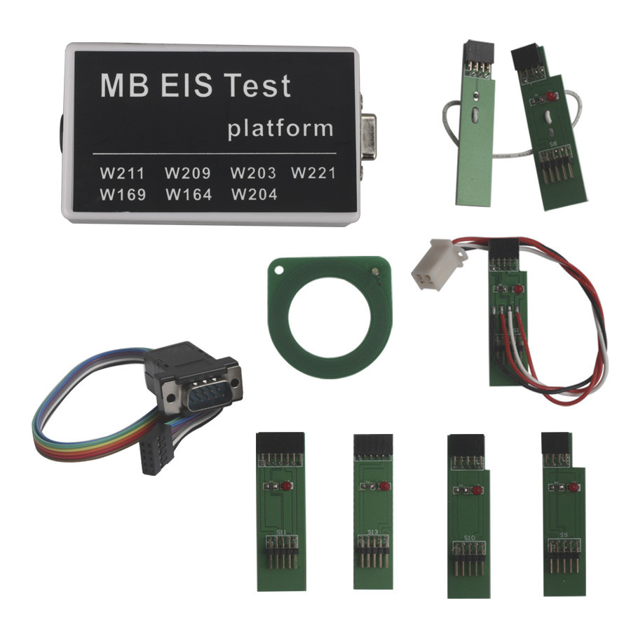 MB EIS Test Platform with Good Quality DHL Free Shipping used good condition c200h id217 with free dhl