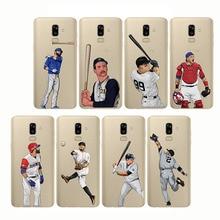 soft silicone phone cases cover baseball cartoon Bryce Harper for Samsung  J5 2015 J7 Prime J3 J4 J6 J8 2018 Plus 201