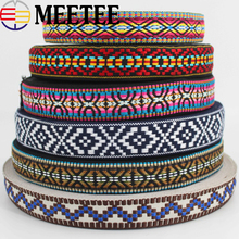 9Yards 30mm Width Polyester Cotton Jacquard Webbing DIY Sewing Webbings Ribbons Clothes Bag Straps Hats Decorative Fabric
