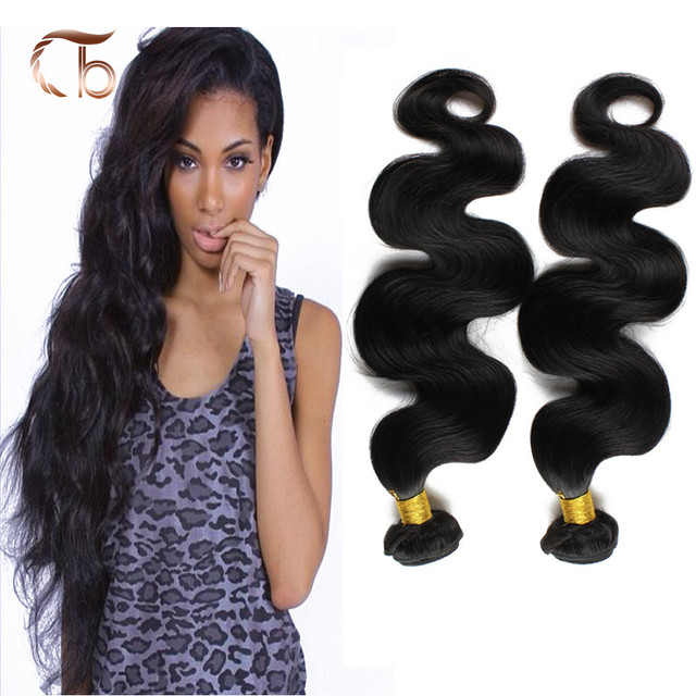 2 Bundles Per Lot Brazilian Body Wave Good Quality Human Hair Weaves