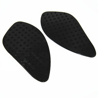 Motorcycle Black General Tank Traction Pad Side Gas Knee Grip Protector Anti Slip Fuel Sticker FORHonda