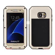 Luxury Aluminum Metal Dustproof Shockproof Armor Waterproof Hard Case Cover For Samsung Galaxy S7 / S7 Edge G930 G935