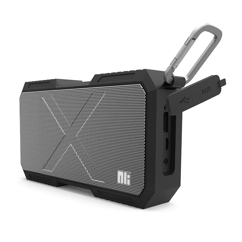 Prix pour Téléphone chargeur Nillkin X-homme Bluetooth haut-parleur téléphone chargeur Musique surround haut-parleur chargeur pour xiaomi pour samsung pour iPhone 6/5