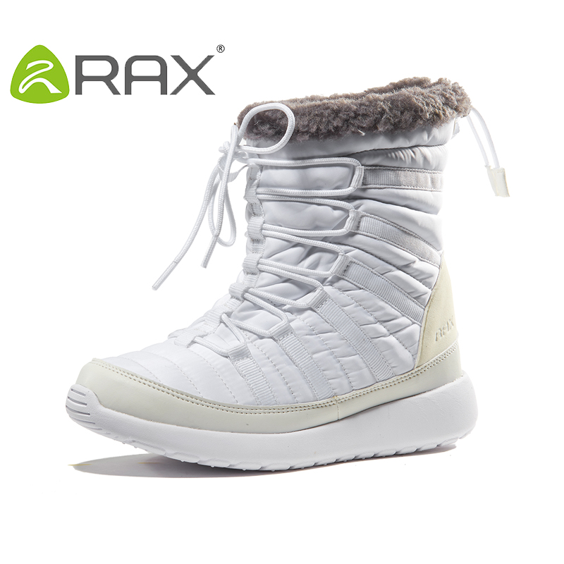 2017 RAX Winter Snow Boots For Women Breathable Outdoor Sneakers Warm Hiking Boots Women Winter Hiking Shoes Woman Snow Shoes peak sport men outdoor bas basketball shoes medium cut breathable comfortable revolve tech sneakers athletic training boots