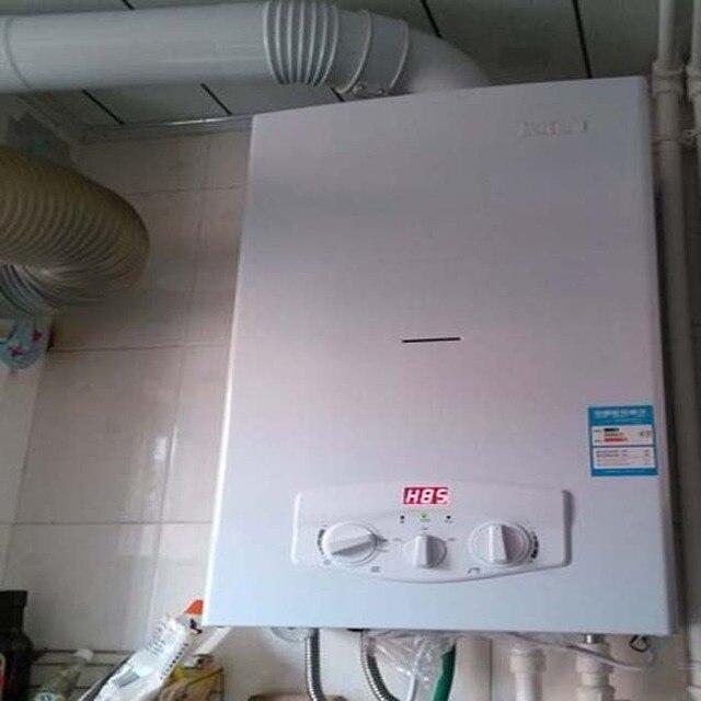 Domestic hot water boiler gas heating bifunctional gas furnace ...