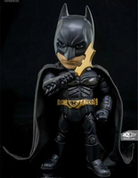 DC Comics The Dark Knight Rises Batman Hybrid Metal Figuration #026 Batman with LED Light Brinquedos PVC Action Figure Kids Toys