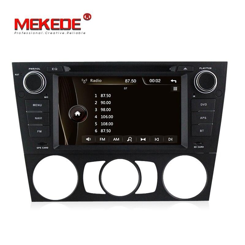 DVD de voiture pour BMW/série 3 318i 320i 325i E90 E91 E92 E93 Navigation GPS stéréo enregistreur multimédia Headunit + hôte 3g