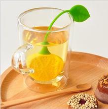 Creative Cute Fruit Shape Lemon Orange Silicone Tea Bag Holder Cup Mug Hanging Tool Tea Leaf Strainer Floating Filter Basket DY цена