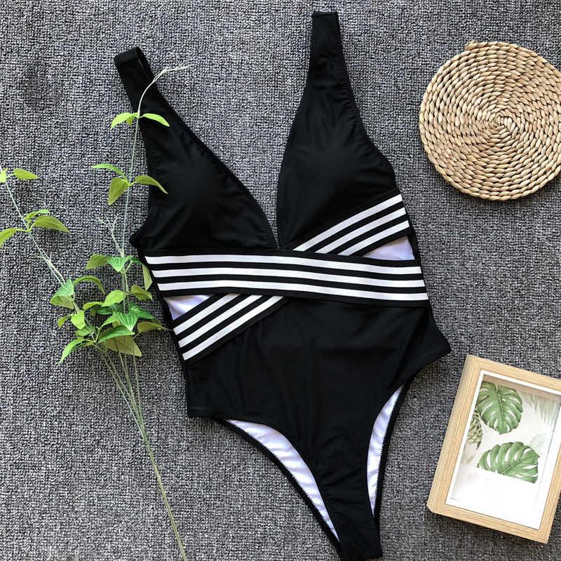 Женские белые стринги бикини Африканский купальник maillot femme мягкий танкини Холтер Купальник для женщин черный полосатый купальник