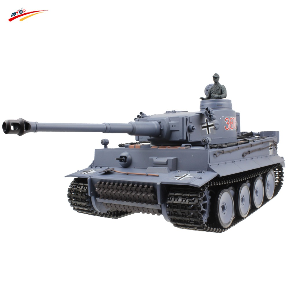 RC Tank 2 4G Germany Tiger 1:16 Remote Control Tank AirSoft