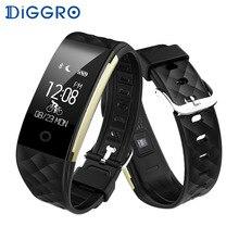 Diggro S2 Водонепроницаемый спортивные Смарт Браслет Сердце Фитнес трекер сна качество Мониторы вызова/уведомления напоминание браслет