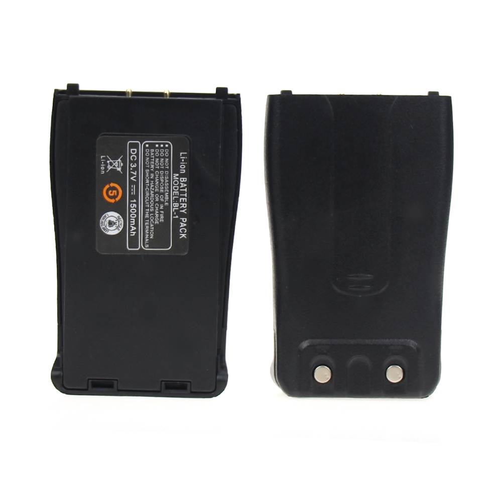 2XBaofeng 888S talkie-walkie batterie BL-1 1500mAh 3.7V Li-ion batterie pour Baofeng BF-777S chape H777 BF-666S BF-C1
