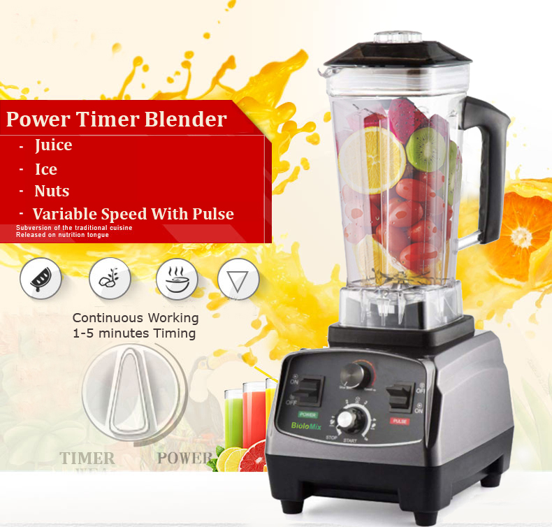 HTB1OZ7AXcvrK1Rjy0Feq6ATmVXaa 3HP 2200W Heavy Duty Commercial Grade Automatic Timer Blender Mixer Juicer Fruit Food Processor Ice Smoothies BPA Free 2L Jar