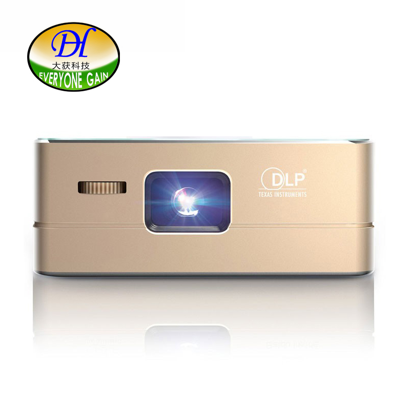 Everyone Gain 2017 Smart DLP 4K LED Mini Portable Projector Wireless Android Portatil Bateria Proyector Battery Projecteur A360 best selling products portable led mini smart projector