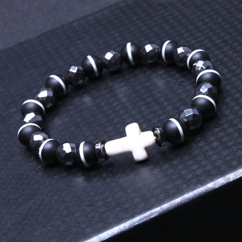 trjz bead matte products mens bracelet black onyx fullxfull s men bracelets and curved wood il