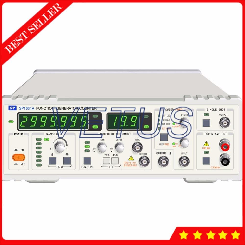 SP1631A цифрового сигнала генератора для частоты развертки сигнала функция несколько импульсов выходной сигнал измерения частоты