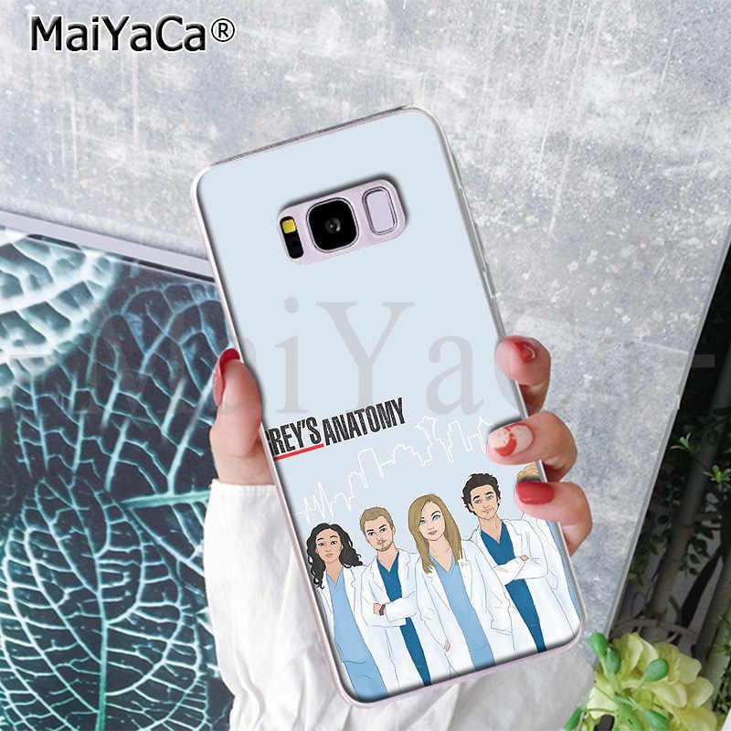 Maiyaca Amerika TV Grays Anatomy Telepon Lucu Case Case Cover UNTUK Samsung S9 S9 Plus S5 S6 S6edge S6plus S7 s7edge S8 S8plus