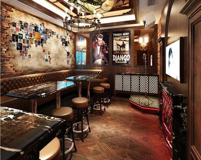 US $15.9 47% OFF|Benutzerdefinierte Basketball Tapete, Basketball Stern  Foto Wandbild für Wohnzimmer Schlafzimmer Restaurant Bar Hintergrund in ...