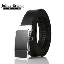 Julius Erving Business Belts Ceinture Brand Genuine Leather Belt All-match Jeans Western-style Trousers Automatic Trousers Belt