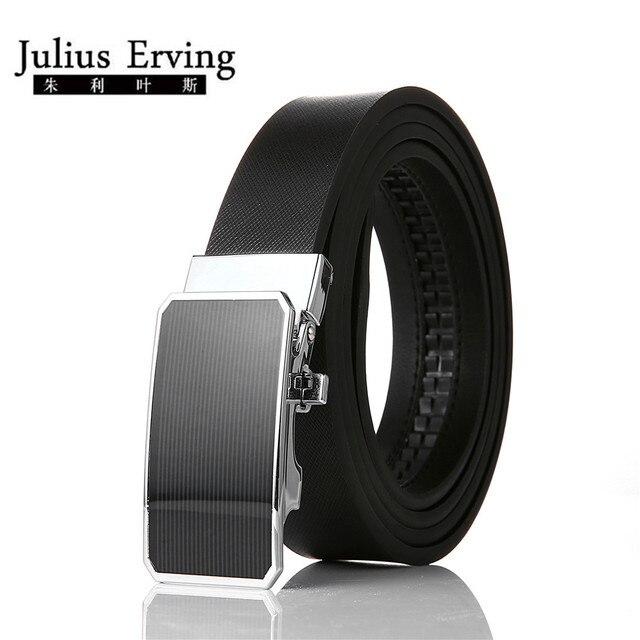eda9e40b23e Julius Erving D affaires Ceintures Ceinture Marque Ceinture En Cuir  Véritable Tout-Allumette Jeans